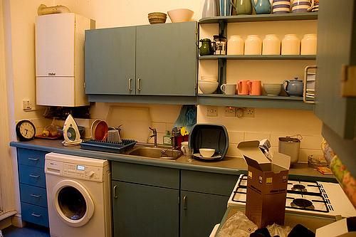 Bojler a konyhában